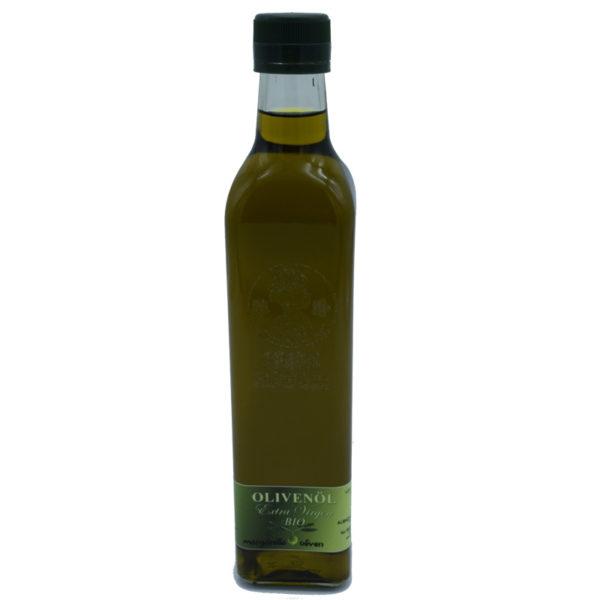Ölpfandflasche Manzanilla Bio Olivenöl
